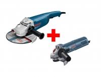 Bosch GWS 22-230 JH + GWS 880 Professional sada úhlový brusek 0.615.990.K2G