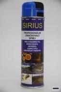 Značkovací sprej Sirius Standard 500ml - modrý
