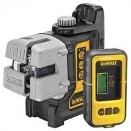 DeWALT DW089KD křížový laser + přijímač DE0892